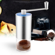 DIKEWANG Newest High Quality Aluminium Innovative Portable Handheld Coffee Grinder Professional Manual Grinder