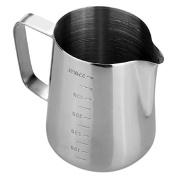 TOOGOO(R) Pitcher espresso stainless steel coffee in the kitchen Home Craft Coffee Jug Latte Foam Milk Coffee Tea Tools