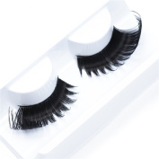 Imstyle Synthetic False Eyelashes Natural Looking Drag Queen Eye Lashes for Party Makeup