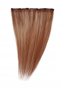 American Dream Clip in Extension Human Hair Number 130, Rich Ginger, 46cm