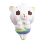 Fun Super Lovely Lamb Sheep Slime Stress Relief Toy ,Yannerr Scented Sludge Toy For Kids Soft Non-sticky