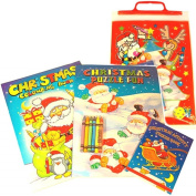 Christmas Colouring Activity Pack