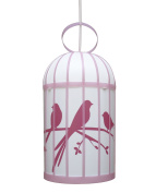R & M Coudert Child's Light Cage Birds Pink
