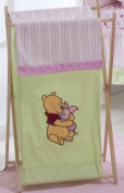 Baby Bedding Design Pink Pooh Hamper