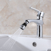 Filter Taps,Woopower 2 Pcs 360 Degree Rotating Tap Double Interface Faucet Bubbler Filter Net Aerator Connector Nozzle Diffuser Swivel for Water Saving Kitchen Tool