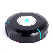 X & Y Lounger Sweep The Floor Robot Automatic Induction Mini Sweeping Machine Black