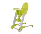 WANG Children Dining Chair Foldable Multifunctional Portable Eating Baby Learn 78 * 50 * 96cm,Green
