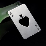 ReadiMax£¨TM)Poker Playing Card Ace of Spades Bar Tool Soda Beer Bottle Cap Opener