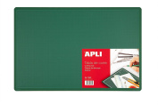 APLI Cutting Mat 45 x 30 cm, Thickness 2 mm, Green