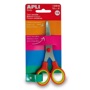 SCHOOL SCISSORS 13 CM RED