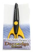 "Mould Master ""Saw Tooth"" Creative Edge Scissors, Plastic, Black"