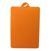 VANKER 1Pc Orange Flexible Plastic Cutting Boards Food Chopping Blocks Cutting Mats Kitchen Tools
