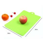 VANKER 1Pc Green Flexible Plastic Cutting Boards Food Chopping Blocks Cutting Mats Kitchen Tools