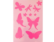 A5 Butterfly and Dragonfly Stencil for Crafts | Craft Cutting Tools