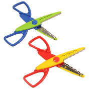 West5Products 2x Creative Craft Pattern Scissors
