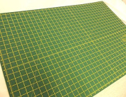 Quality Double Sided Imperial Metric Non Slip Self Healing Cutting Mat - A4