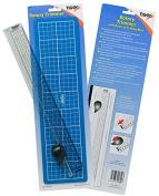 A4 A5 A6 Rotary Cutter Craft Trimmer (Paper/Card/Photo) Cutting Mat Ruler Guide