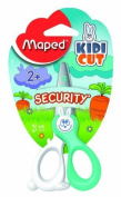 Maped Kidikut Safety Scissors, Fibreglass Blades, 12cm , Assorted Colours (037800) by MAPED USA Office Product