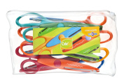 Jpc créations Pack of 6 Pairs of Scissors 16 cm Various Colours