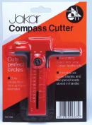 Jakar Compass Cutter Circle Cutter Cuts Perfect Circles Paper Card Film Vinyl Rubber Leather 7339