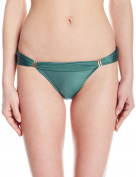 Vix Women's Solid Bia Tube Full Coverage Bikini Bottom