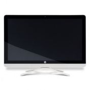 "HP 24-g206a AiO 23.8"" 1080p FullHD Touch AMD Quad Core A6-7310 8GB DDR3 1TB DVDRW Radeon R4 Graphics"
