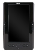 NAXA NEB-7010 18cm Noodle Colour eBook Reader and Multimedia Player with 4GB Built-in Memory