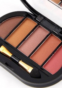 Msmask Professional Eyeshadow Palette Shimmer Matte Beauty Make Up Pallete Set Smoky