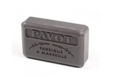 Authentic SAVON DE MARSEILLE French Soap POPPY (Pavot) Made in France 125 g