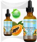 PAPAYA SEED OIL WILD GROWTH. 100% Pure / Natural / Undiluted/ Virgin / Unrefined Cold Pressed Carrier Oil. For Skin, Hair, Lip and Nail Care 0.5 Fl. oz. - 15 ml.