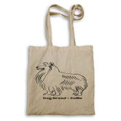 Dog Breed Collie Tote bag s806r