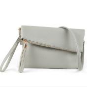 PU Leather Shoulder bag Wristlet Women's Handbag Clutches Messenger bag