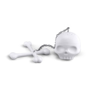Sunwords Creative Tea Bones Skull Infuser Loose Leaf Leaves Lazybone Silicone Strainer