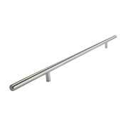 RCH Hardware H H-C002S-352-Ssb H Solid Stainless Steel T-Bar Pull Handle for Cabinets and Drawers