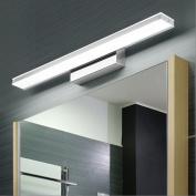 Simple Modern LED Mirror Front Lamp Waterproof Anti-fog Bathroom Mirror Lamp European Mirror Cabinet Light LED Wall Lamp