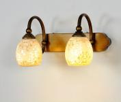 HOHE SHOP/ LED lights bathroom mirror cabinet bathroom mirror front lamps creative ceramics (energy efficiency rating