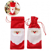Bags Wine Christmas OULII Santa Christmas Bottle Bag
