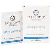 Tattoo Toomed After-Sun Piercing Wet Wipes
