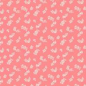 Liberty Quilt Fabric, English Garden, English Berry Pink, Fat Quarter 04775605X