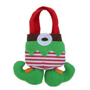 ZHJZ Christmas Treat Bags Candy Bag Santa Elf Socks Stocking Filler Pants