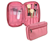 ZHJZ Professional Cosmetic Makeup Brush Handbag Holder