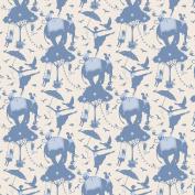 Tilda Circus Life Blue Fabric Fat Quarter