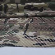 Deep Multicam Pattern Camouflage Camo Net Cover Military 150cm W Mesh Fabric Cloth