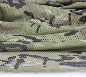 Multicam Pattern Camo Camouflage Net Cover Army Military 150cm W Mesh Fabric Cloth
