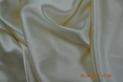 Pure Silk Heavy Crepe Back Satin, 140 cm, Ivory