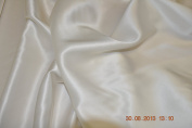 Pure Silk Double Faced Satin, heavy, 140 cm , ivory