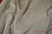 Pure Silk Crepe De Chine, 140 cm, ivory