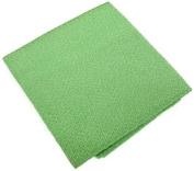 Kyoto Chirimen Plain Fabric Cut Cloth Rayon 100% 23 cm x 33 cm col. 117 Green / Yellow Green