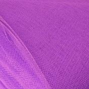 Purple Standard Dress Net Fabric