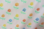 """Pansies Pink Cotton Anna French 140cm/54"""" Designer Material Sewing Upholstery Curtain Craft Fabric (Metre)"""